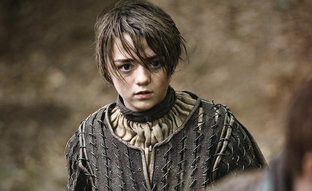 אריה סטארק (צילום: באדיבות yes / HBO)