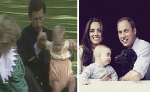 משפחת המלוכה (צילום: חדשות 2)