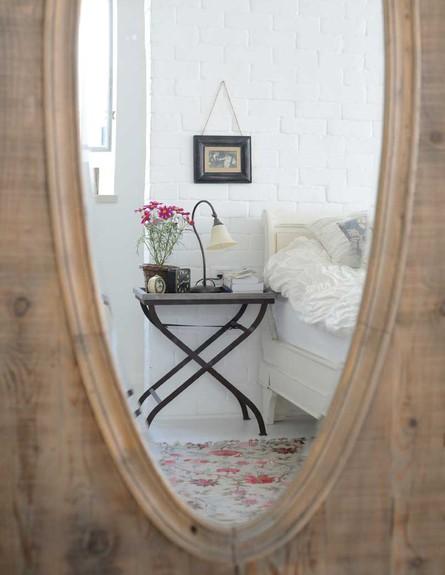 דניאלה כהן, חדר שינה מראה גובה (צילום: יונתן בלום ובועז לביא)