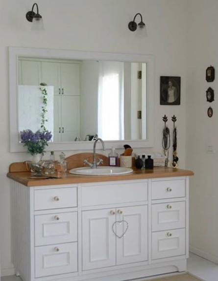 דניאלה כהן, כיור חדר רחצה הורים (צילום: יונתן בלום ובועז לביא)