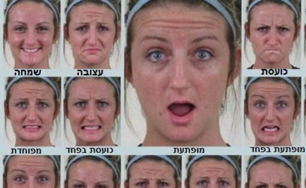 21 הבעות פנים