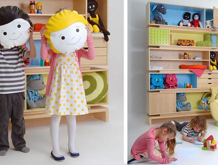 חדר ילדים צבעוני (צילום: שרית שני חי)