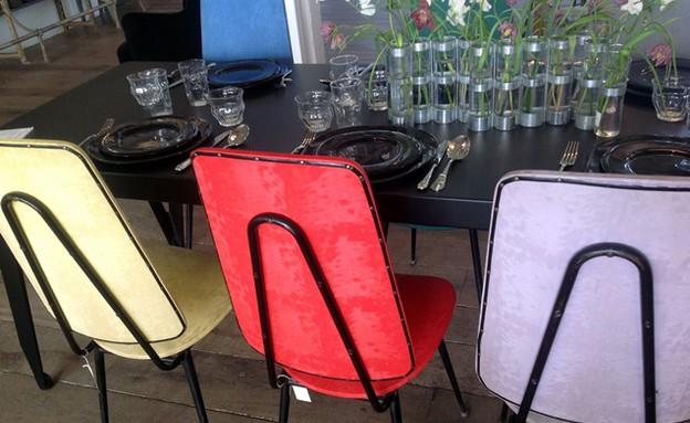 מרב בפריז, מרסי כסאות בצבעים, צילום מרב שדה (צילום: מרב שדה)