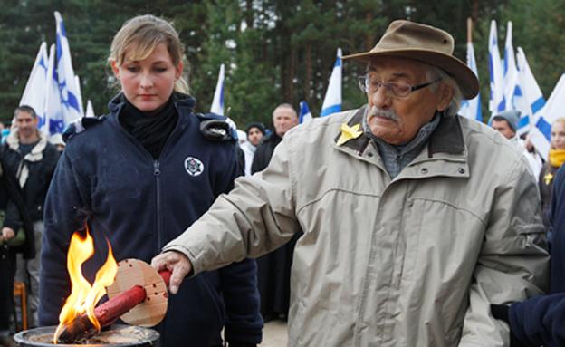 הניצול האחרון מטרבלינקה, שמואל וילנברג (צילום: AP)