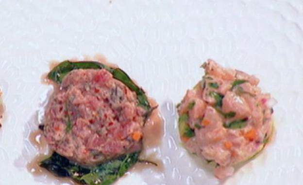 גמר מאסטר שף: המנה הראשונה של מסרט (תמונת AVI: mako)