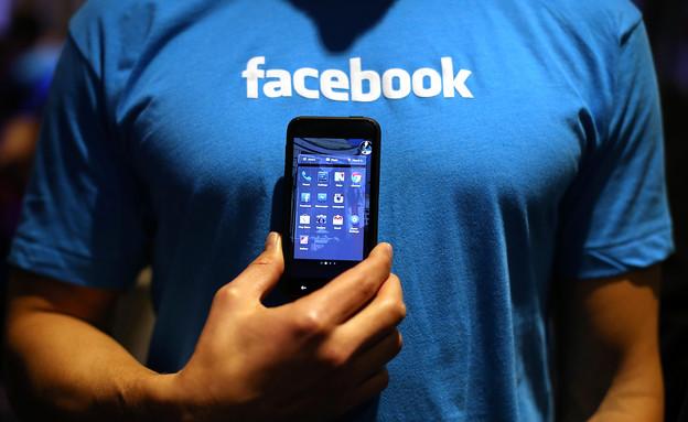 פייסבוק, סלולר (צילום: Justin Sullivan, GettyImages IL)