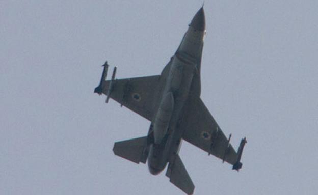 חיל האוויר תקף 5 מטרות. ארכיון (צילום: AP)