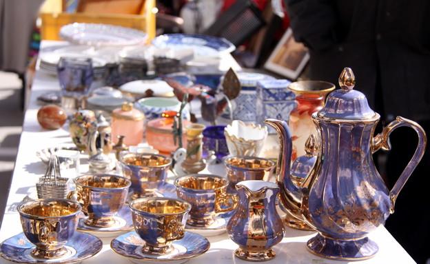 ממרב בפריז, שוק הפשפשים כלים, צילום מרב שדה (צילום: מרב שדה)