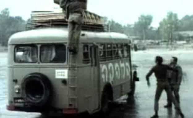 """מצאו את ההבדלים (צילום: מתוך הסרט """"הלהקה"""", באדיבות יונייטד קינג – משה ולאו)"""