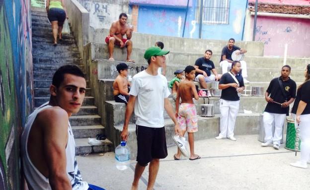 אביתר קורקוס ויואב צפיר בברזיל (צילום: אלעד וייסמן)