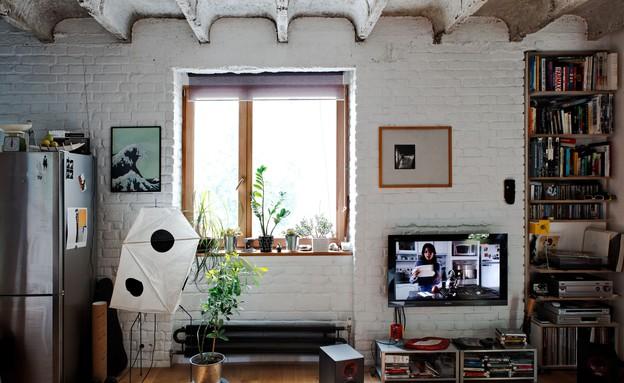 הדירה של לוקאס (צילום: gutgut)