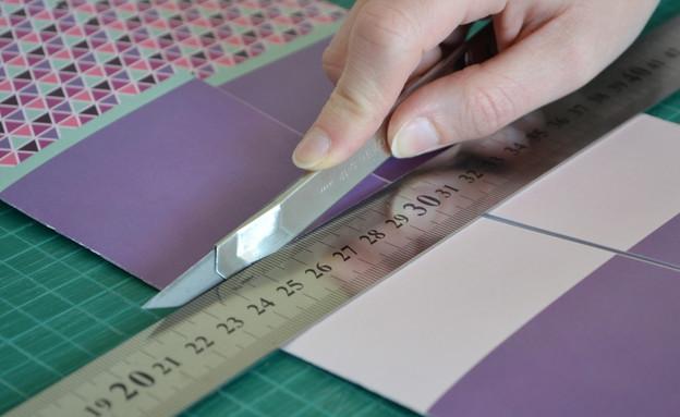 מתנה, עשו זאת, אוריגמי, חיתוך, צילום מיכל צ'סני (צילום: מיכל צ'סני)