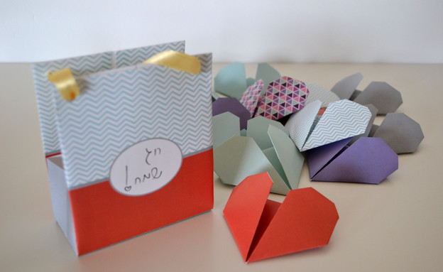 מתנה, עשו זאת, אוריגמי, סופי, צילום מיכל צ'סני (צילום: מיכל צ'סני)