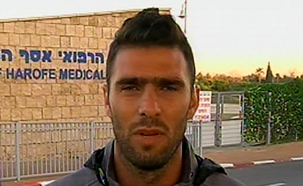 אחיה של אורטל הלל (צילום: חדשות 2)