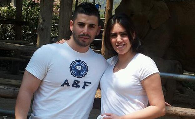 """אורטל הלל ז""""ל ובעלה מאור (צילום: באדיבות המשפחה)"""