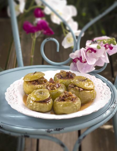 תפוחים אפויים הדור הבא של תום פרנץ (צילום: אנטולי מיכאלו, אוכל טוב)