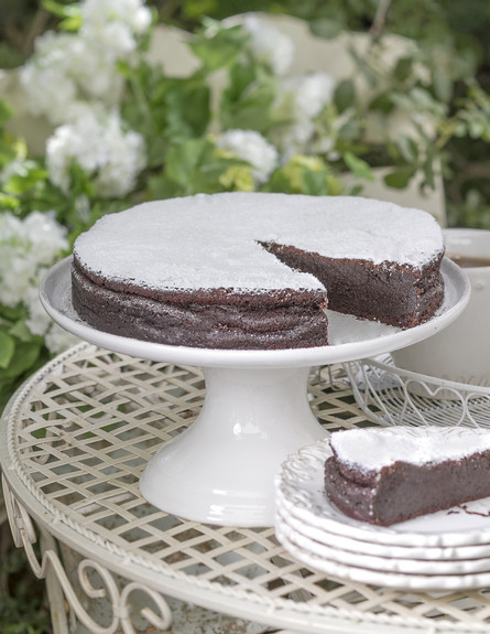 עוגת שוקולד גרמנית עשירה (צילום: אנטולי מיכאלו, אוכל טוב)