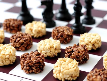 חטיף פצפוצי אורז (צילום: שרית נובק - מיס פטל, אוכל טוב)