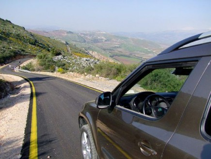 דרך הנוף הכי טובה - דרך הרי נפתלי בכביש 886