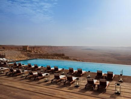 המלון עם הנוף הכי שווה - בראשית