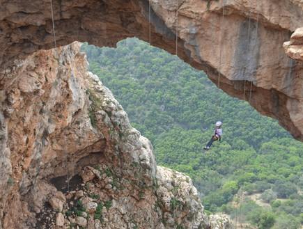 המקום הכי טוב לסנפלינג - סנפלינג במערת קשת