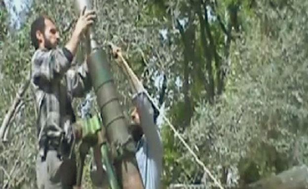 המורדים שבים להכות בדמשק