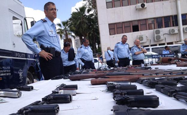 כלי הנשק שנתפסו במבצע