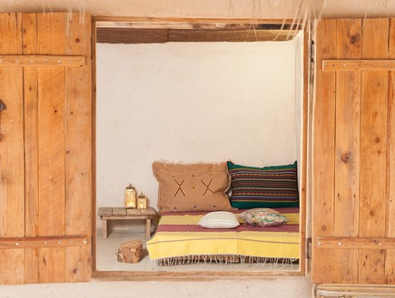 הפקה במדבר, חדר שינה (צילום: אודי גורן)