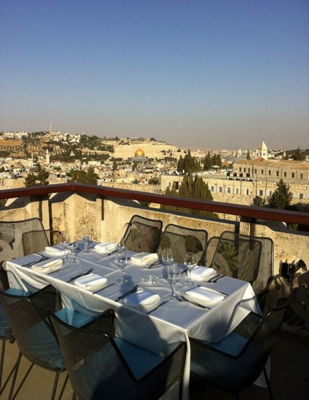 בר היין הכי טוב - Rooftop Wine Bar