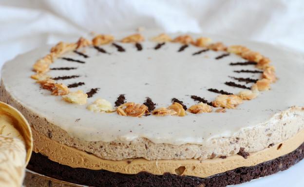 עוגת שילה של ביסקוטי (צילום: אורן שלו)