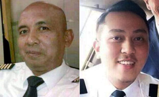 טייס המשנה, מימין (צילום: CNN)