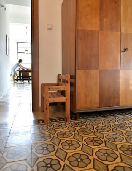 קופצות בית ביפו, חדר ארון גובה (צילום: שי בן אפרים ודני אבשלום)