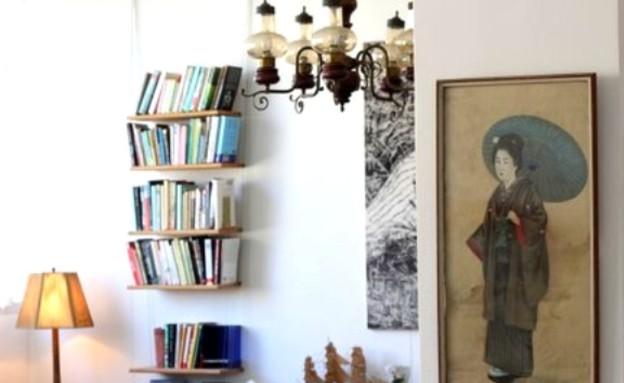 קופצות בית ביפו, סלון ספרים (צילום: שי בן אפרים ודני אבשלום)