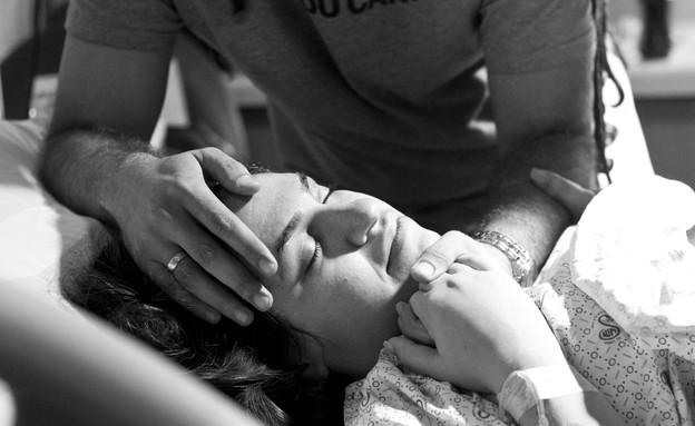 סיפור הלידה של דנה ואסף (צילום: דנה אופז, מערכת מאקו הורים)
