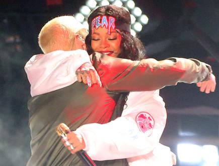 ריהאנה, אמינם (צילום: Frederick M. Brown, GettyImages IL)