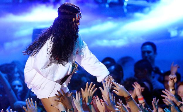 ריהאנה, אמינם (צילום: Kevork Djansezian, GettyImages IL)