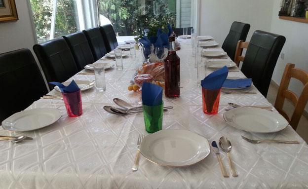 שולחן חג (צילום: חדשות 2)