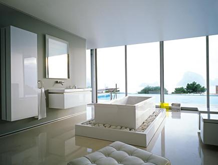 25-אמבטיות עם נוף, מראה_מודרני_ויוקרתי_ללא_קישוטים.www.duravit.us (צילום: www.duravit.us)