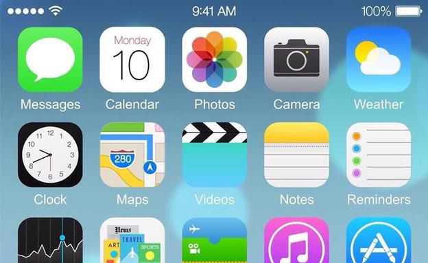 האם זה iOS 8? (צילום: Weibo )