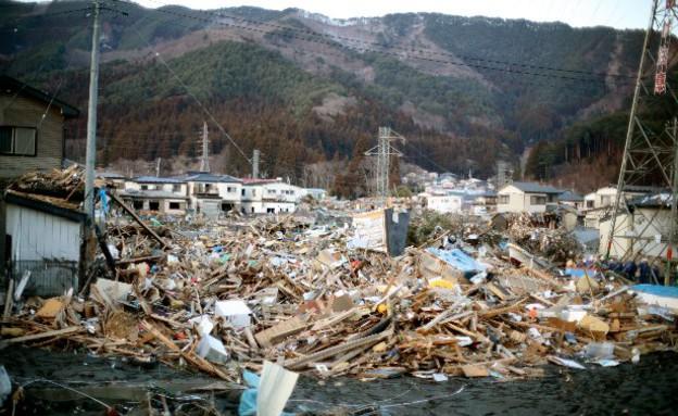 יפן אחרי הצונאמי (צילום: מיקי אלון)