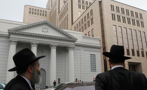 יהודים באוקראינה (צילום: רויטרס)