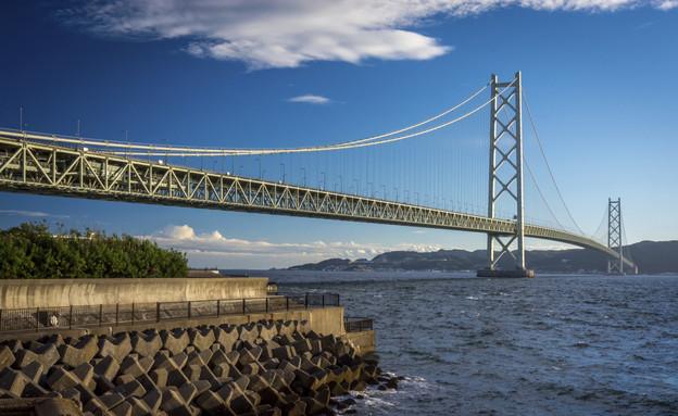 the Akashi-Kaikyo Bridge, הגשרים הארוכים בעולם (צילום: אימג'בנק / Thinkstock)