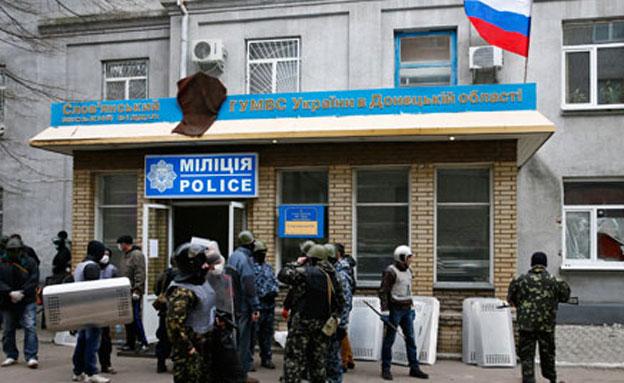 """""""הצבא הרוסי לא מעורב באוקראינה"""" (צילום: רויטרס)"""