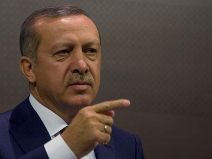 """דורש פיצויים. ר""""מ טורקיה ארדואן (צילום: AP)"""