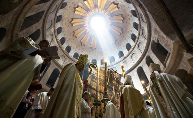 חגיגות הפסחא ירושלים (צילום: חדשות 2)