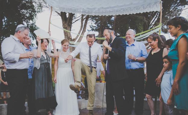 החתונה של דורון ועידו (צילום: דויד סקורי)