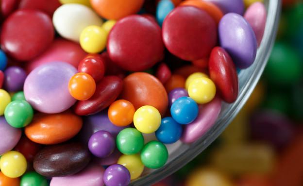 סוכריות צבעוניות צילום אייסטוק (צילום: istockphoto)