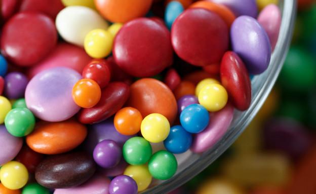 סוכריות צבעוניות לאוכל טוב (צילום: istockphoto)