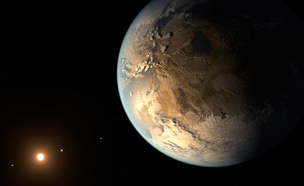 כוכב הלכת החדש. דומה? (צילום: רויטרס)