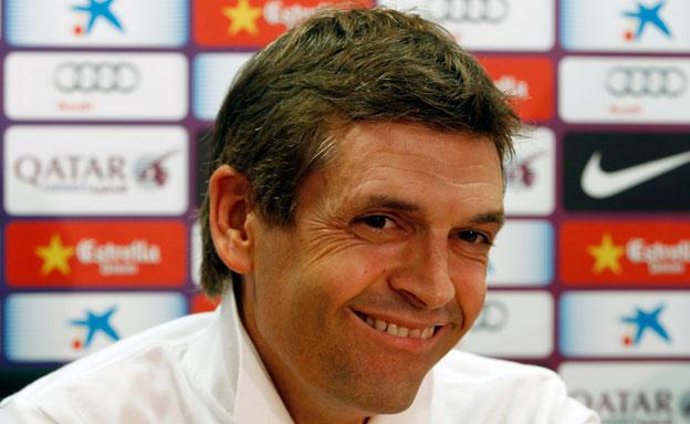אבל בספרד על מות המאמן טיטו וילאנובה (צילום: רויטרס)